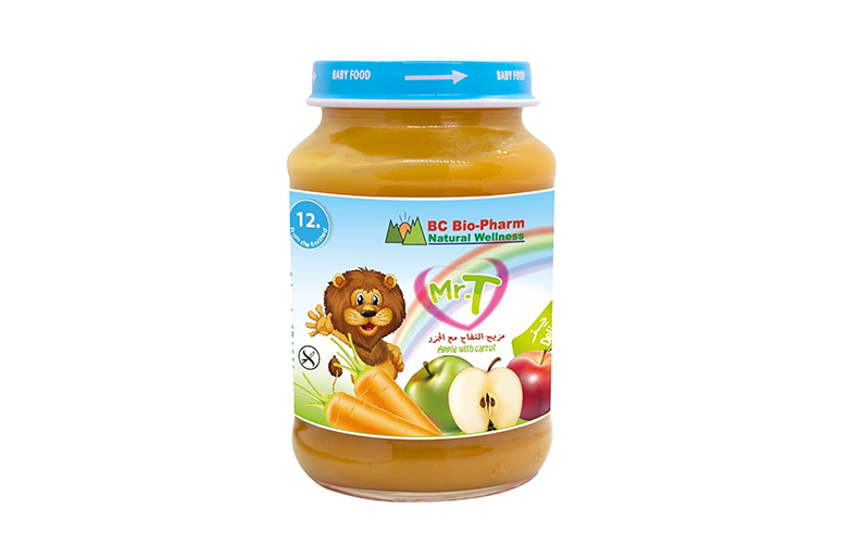 BABY FOOD APPLE AND CARROT