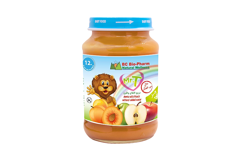 BABY FOOD APPLE , APRICOT AND CARROT
